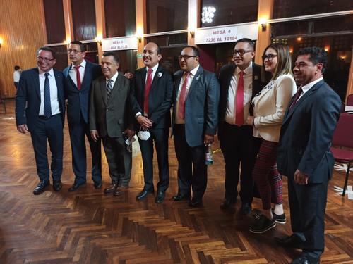 El exrector Estuardo Gálvez tiene bastante apoyo entre el gremio de abogados. (Foto: archivo/Wilder López/Soy502)