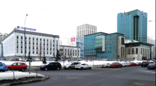 Vista de una de las más de 400 sucursales que el Gazprombank tiene en Rusia. (Foto: Google Maps)