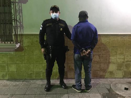 Byron Manolo Rosas Andrino de 39 años fue detenido por agresión sexual. (Foto: PNC)