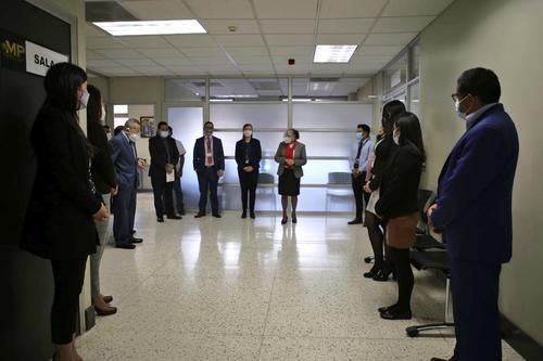 La Fiscal General se reunió con el equipo del MP.