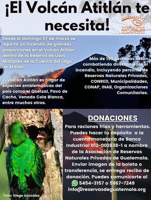 (Foto: Asociación de Reservas Naturales Privadas de Guatemala)