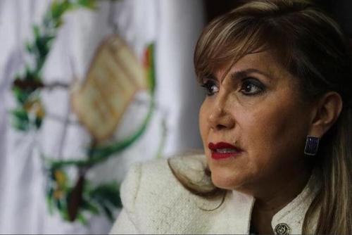Dina Ochoa, magistrada, CC, Jimmy Morales, política