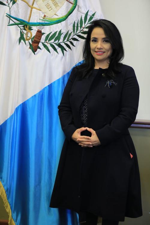 Leyla Lemus, Alejandro Giammattei, CC, magistrada, CC