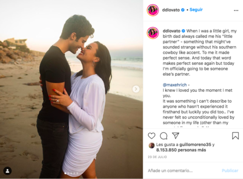 demi lovato, max ehrich, glamour, sexualidad, guatemala, soy502