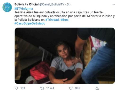 (Captura: Twitter @Canal_BoliviaTV)