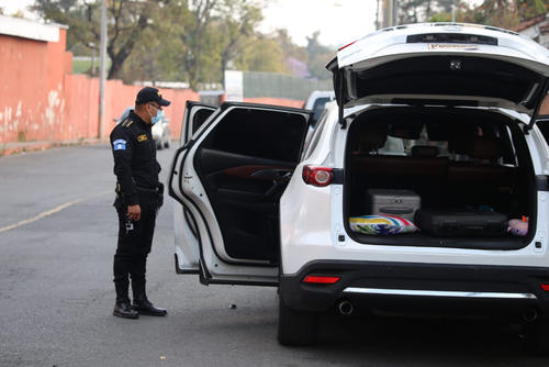 Familia Walter Gómez, Luisa Fernanda Sarceño, vehículo, abandonado, zona 13, Guatemala, seguridad, soy502