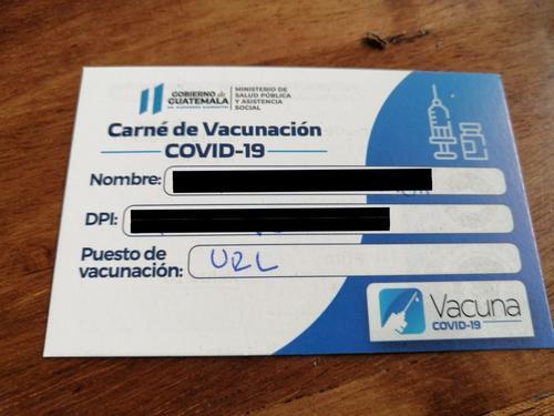 carné vacunación, vacunación, covid 19, constancia vacunación