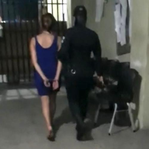 madre detenida, estado de ebriedad, menor