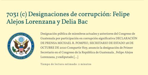norma torres, corrupción guatemala, corruptos