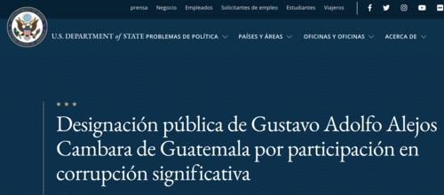 gustavo alejos cámbara, sección 7031 c, norma torres, corrupción guatemala, corruptos