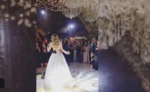 El momento del baile (Foto: captura de pantalla / Video IG@gonzalezhelfon/ Infobae)