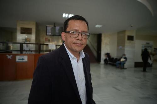 Gustavo Juárez en Tribunales. (Foto: archivo/Soy502)