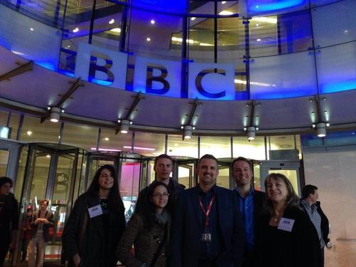 Leslie ha trabajado para grandes compañías de comunicación como la BBC de Londres. (Foto: leslie Kajomovitz)