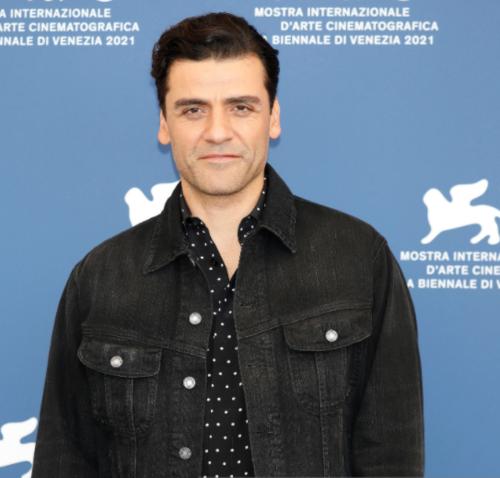 Oscar Isaac at the 78th Venice Film Festival 2021. (Photo: AFP)