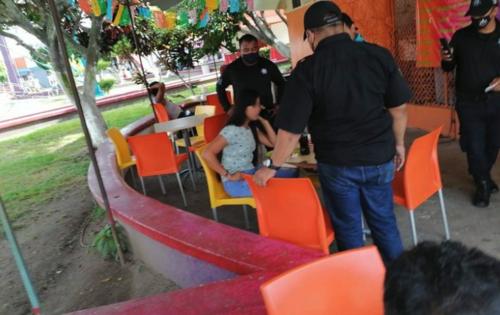 La joven de 14 años fue encontrada por agentes policiales de Tapachula. (Foto: Diario del Sur)