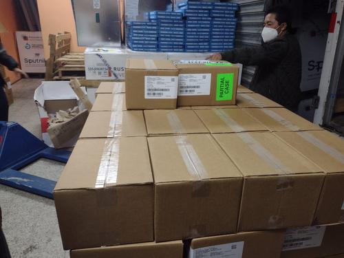 Las dosis de vacunas contra el covid-19 fueron llevadas al Centro Nacional de Biológicos. (Foto: Ministerio de Salud)