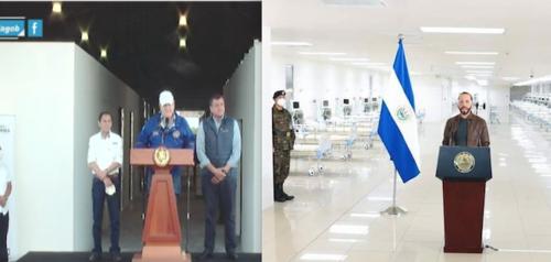 A finales de marzo del 2020 se inauguró el Hospital Temporal Parque de la Industria y a finales de junio del mismo año el Hospital El Salvador. (Foto: archivo/Soy502)
