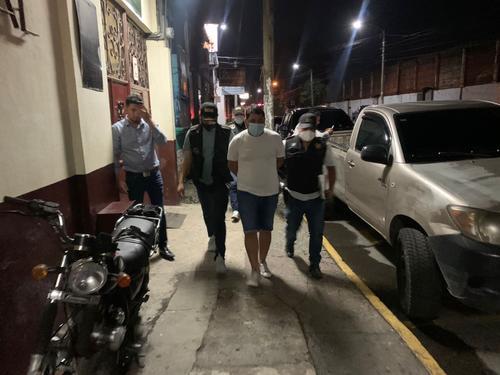 El detenido fue identificado como William Darlin Pacheco Vásquez, de 31 años. (Foto: PNC)