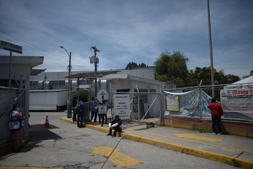 Ingreso único al hospital temporal Parque de la Industria. (Foto: Wilder López/Soy502)