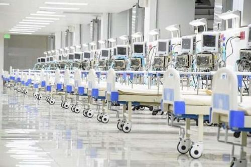 Así lucía el hospital El Salvador cuando fue inaugurado. (Foto: Twitter)