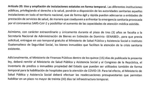 ley de emergencia, covid 19, congreso