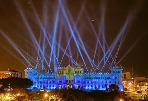 Así lucía el Palacio Nacional de la Cultura la noche del lunes 13 de septiembre. (Foto: PaGueB)