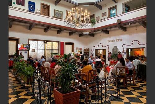 Foto de archivo del área de restaurante del hotel Pan American. (Foto: Facebook Hotel Pan American)