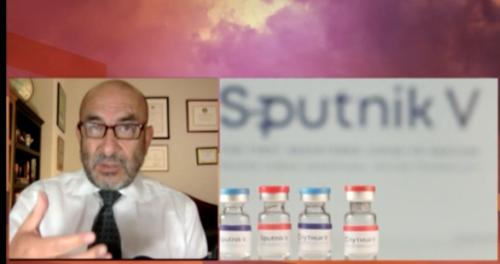 El especialista explicó la razón de no aprobar, por el momento, la vacuna rusa. (Foto: captura de pantalla)