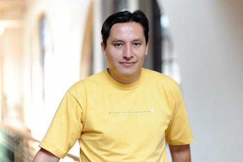El boliviano Reinaldo Ortuño, coordinador médico de Médicos Sin Fronteras en Guinea. (Foto: EFE)