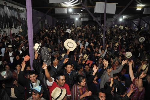 Las votaciones se llevaron a cabo sin ningún problema en Nebaj, Quiché