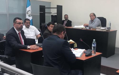 La audiencia de primera declaración del abogado de La Patrona se realizó la noche del sábado 13 de mayo. (Foto: Cortesía)