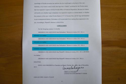La Juez denegó varias solicitudes de la defensa de Bantrab. (Foto: Soy502)