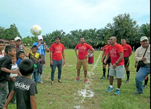 """El """"Pin"""" es una institución en el fútbol guatemalteco. Es el máximo goleador de todos los tiempos. Además, es reconocido por su carisma. (Foto: Archivo)"""