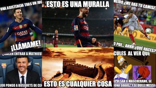 Barcelona campeón memes
