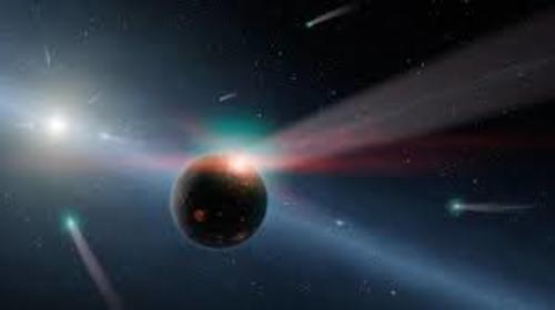 Ilustración del singular cometa rocoso C/2014 S3. (Foto: ESO/M. Kornmesser)