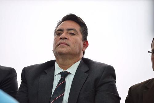 El exdiputado Edgar Cristiani, durante una audiencia. (Foto: Jesús Alfonso/Soy502)