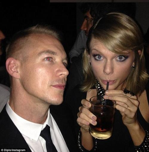 El DJ Diplo también se encuentra distanciado de Taylor Swift. (Foto: dailymail.co.uk)