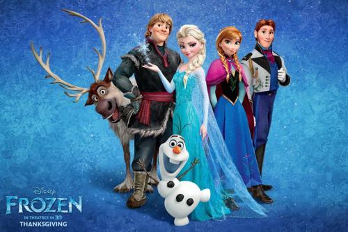 Frozen, una cinta de Disney para toda la familia, ocupa el segundo lugar en taquilla tras su primera semana de estreno