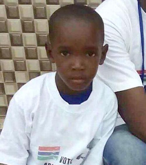 Habib Barrow tenía ocho años. (Foto: Infobae)