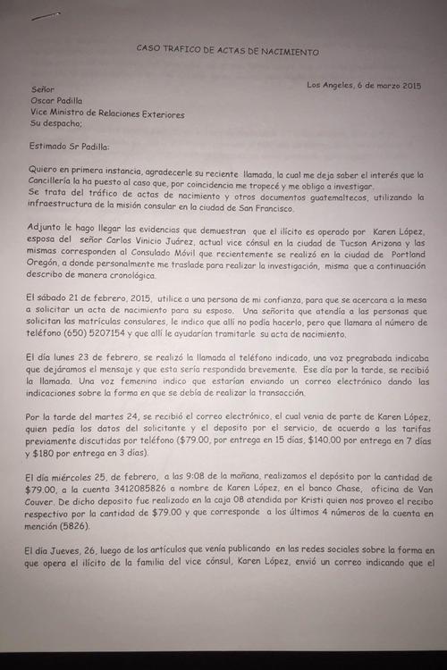 Denuncian supuesta red de corrupción en consulados guatemaltecos ...