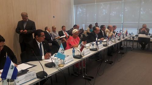 En abril, un grupo de diputados guatemaltecos visitó Panamá. (Foto: Facebook/José Inés Castillo)