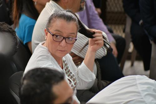Judith Ruiz, fue secretaria de Baldetti cuando era diputada y trabajó en la vicepresidencia en el mandato del partido Patriota. (Foto: Soy502)