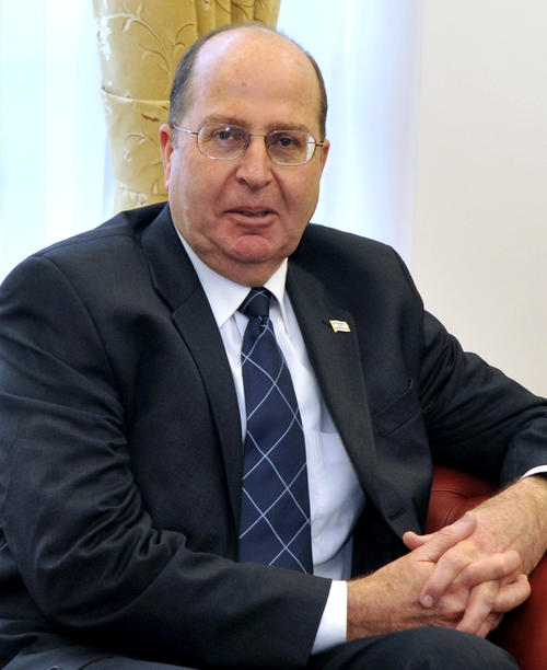Ministro de la Defensa de Israel, Moshé Yaalon. (washingtontimes.com)