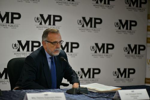 El comisionado se mostró indignado con este nuevo caso de corrupción. (Foto: Wilder López/Soy502)