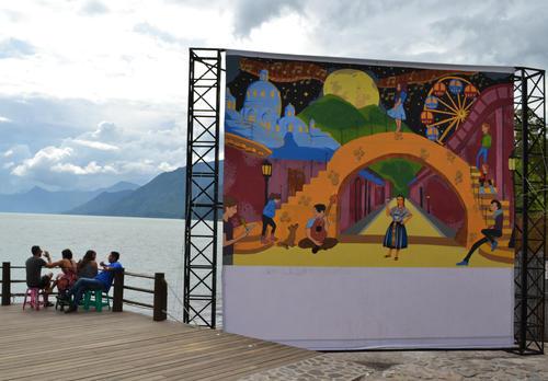 Estos Impresionantes Murales Hacen De Guatemala Un Pais Mas Bello