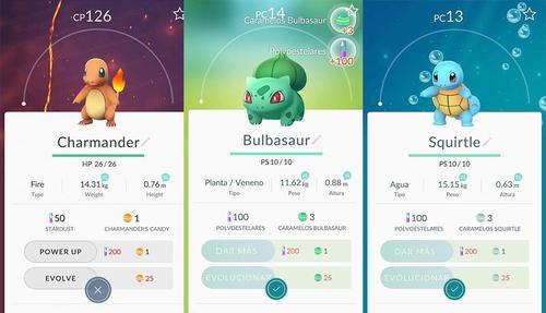 Debes elegir inicialmente entre uno de estos pokemones para iniciar tu aventura.  (Foto: peru.com)