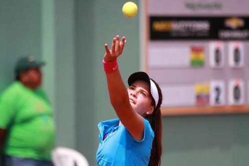 Camila Ramazzini es parte del equipo de Guatemala de Copa Federación de tenis. (Fotos: COG)