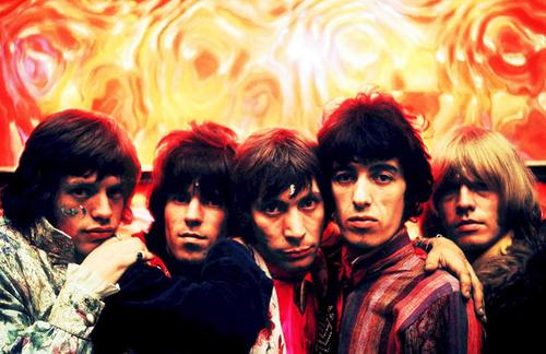 Una fotografía que Cooper tomó a The Rolling Stones en 1967