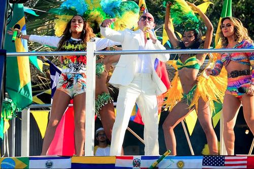 J. Lo, Pitbull y Claudia Leitte prenderán la fiesta el 12 de Junio durante la inauguración del Mundial de Brasil 2014.
