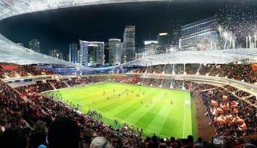 El estadio tendrá capacidad para 25,000 espectadores